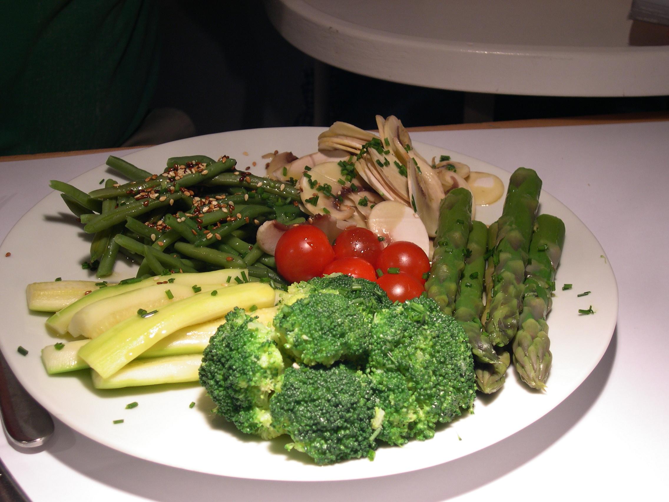 קולט. ירקות בגריל