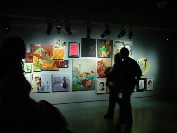 """גלריית הילדים בפומפידו מתוך התערוכה """"צבע טרי"""", דצמבר 2007"""