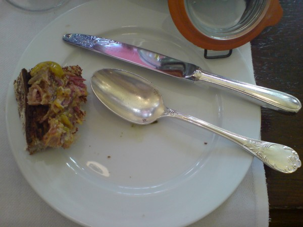 Pot de Cuisiner chez Aux Lyonnaise