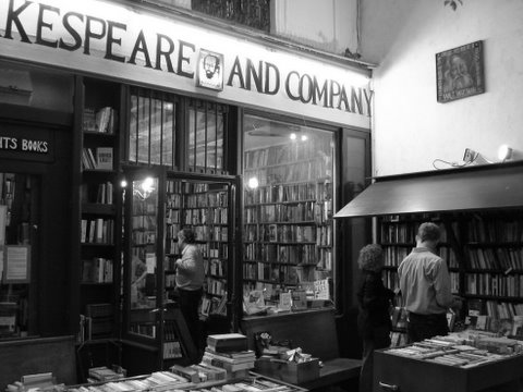 Shakespeare and Company                                       Photo: Amir Merksamer