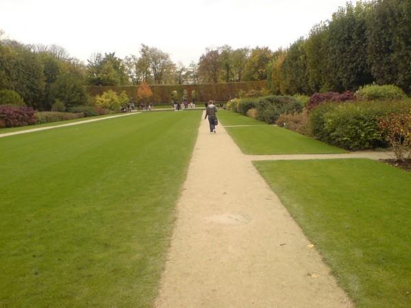 הדרך לגנים האחוריים. Jardin de Rodin