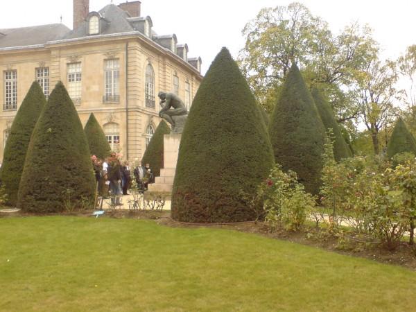 האיש החושב. Jardin de Rodin