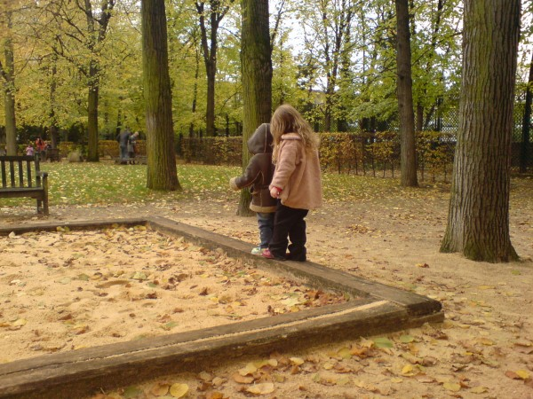 גינה סוף. Jardin de Rodin