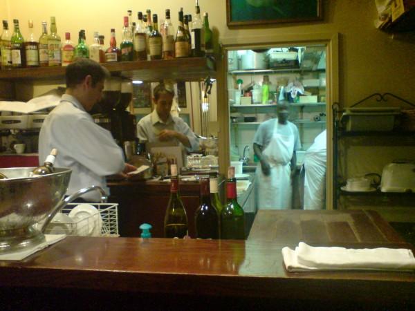 Le Marsangy. מבט אל המטבח